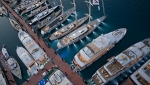 The floating docks at YCCS are enhanced with a Terra Cotta color giving the marina distinction