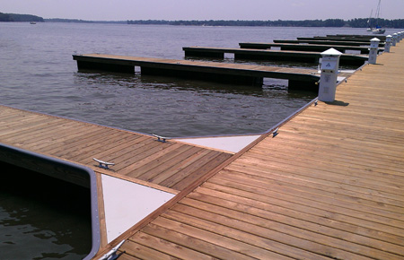 Timber Floating Docks