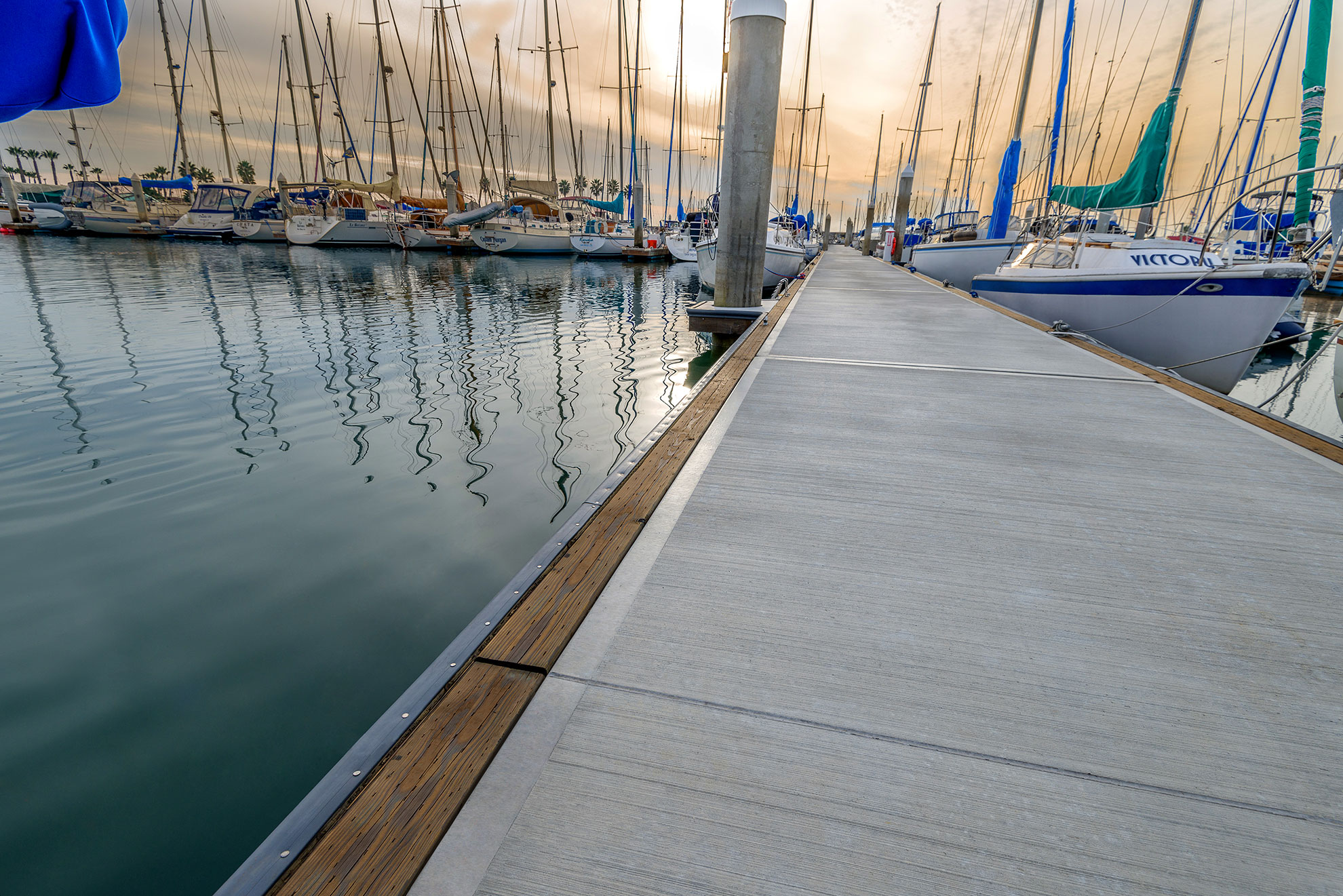 Marina Products – Concrete Floating Docks