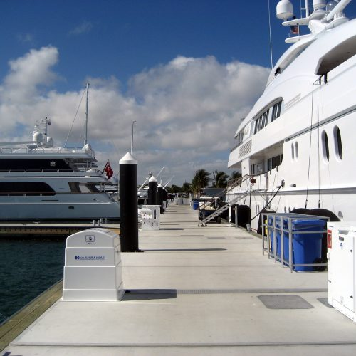 Heavy Duty Walkways at Rybovich Marina