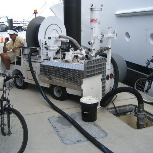 High-Speed In-Slip Fueling Rybovich Marina