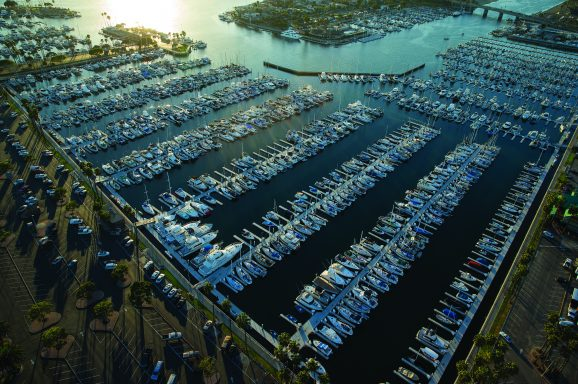 The Alamitos Bay Marina was a design/build project that replaced the existing marina.