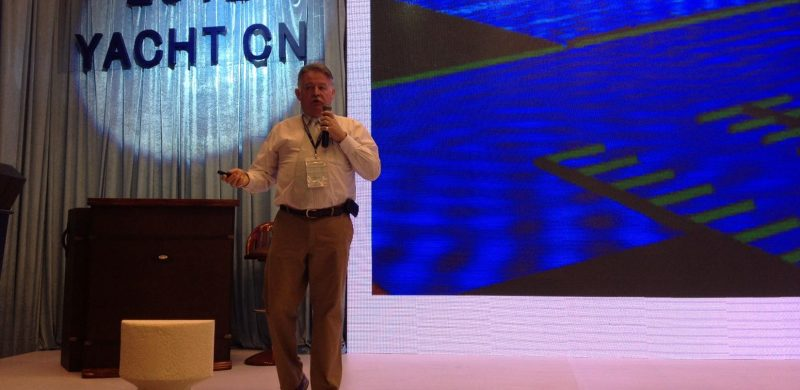 World renowned marina builder presents at Chain's 1st marina conference