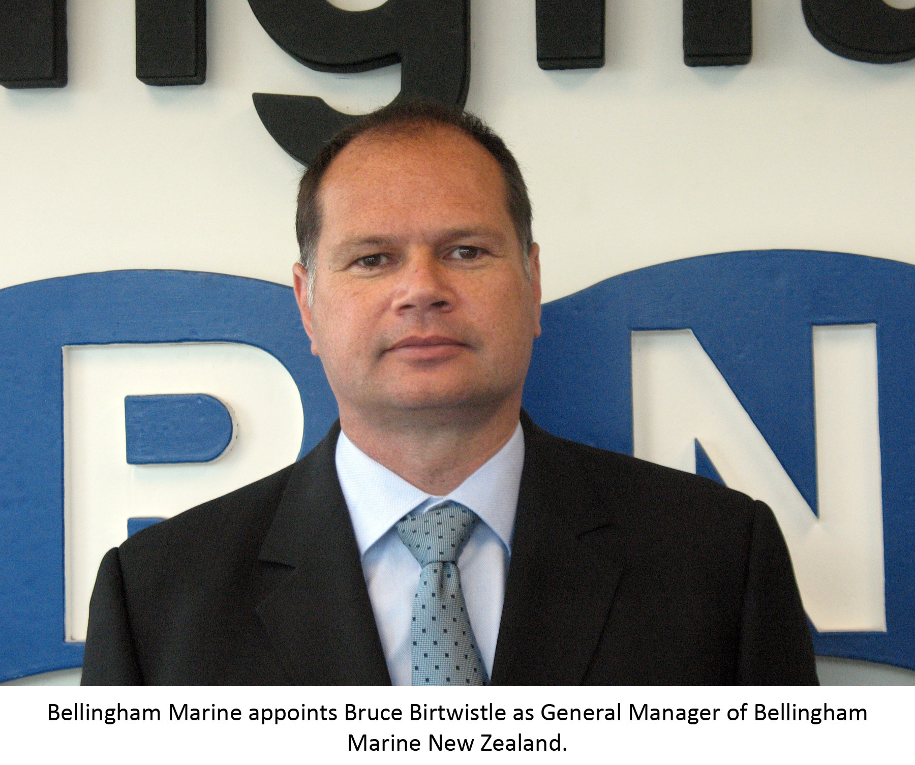 Bruce Birtwistle General Manager of Bellingham Marine New Zealand
