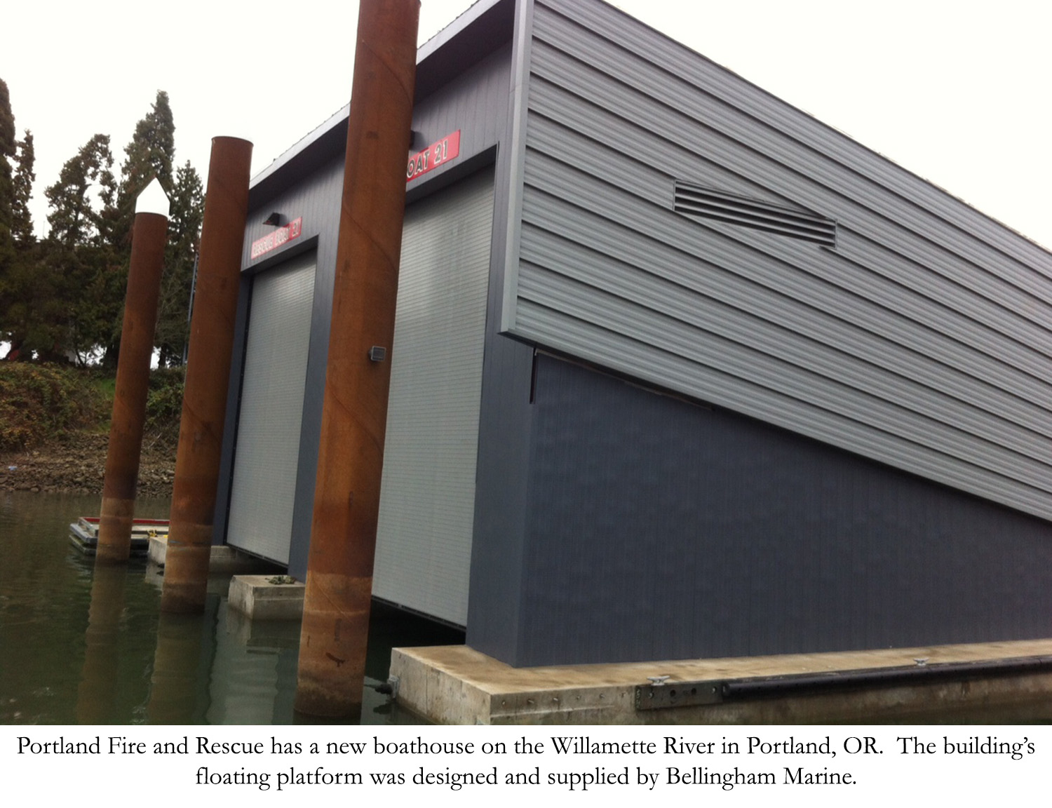 Portland Fire and Rescue Boathouse
