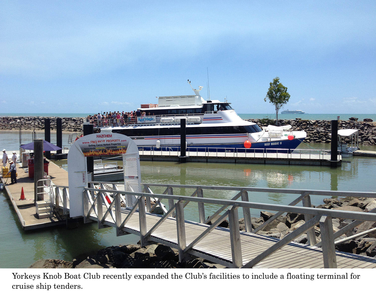 Bellingham Marine utilizes concrete pontoons in construction of new cruise ship tender terminal