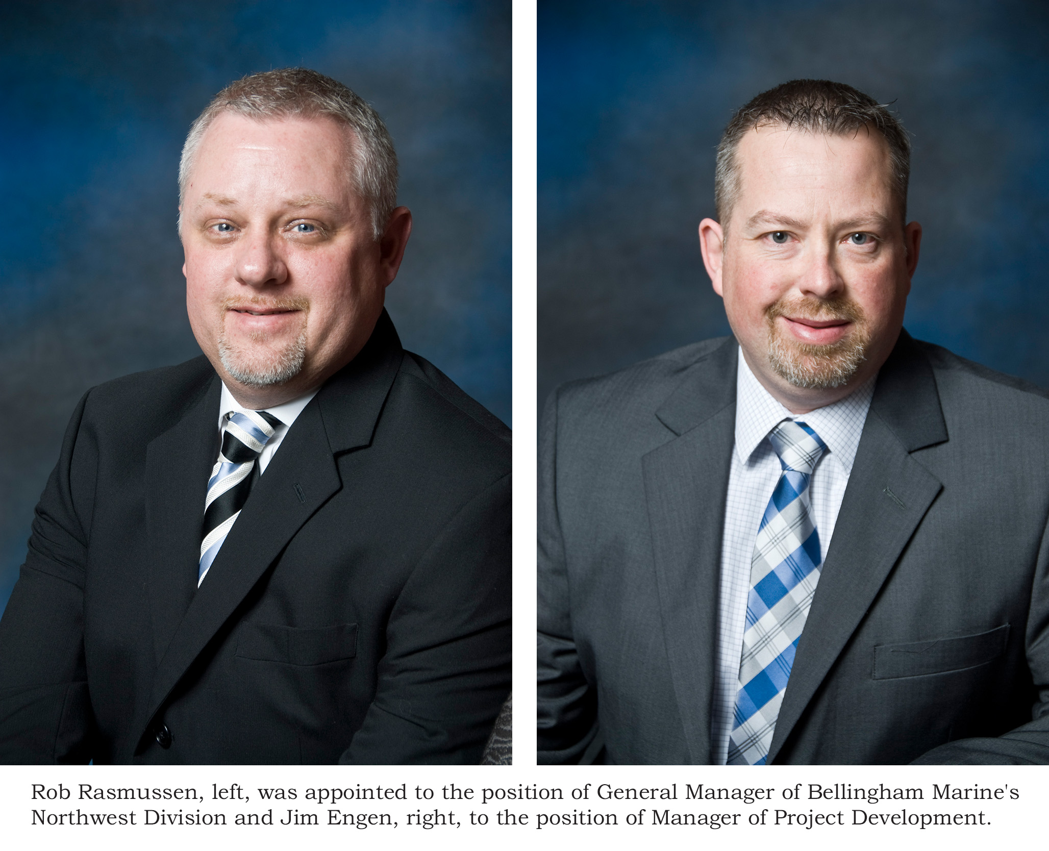 Bellingham Marine appoints Rasmussen and Engen to Key Positions