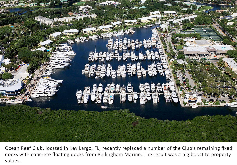 Bellingham upgrades docks at Ocean Reef Club