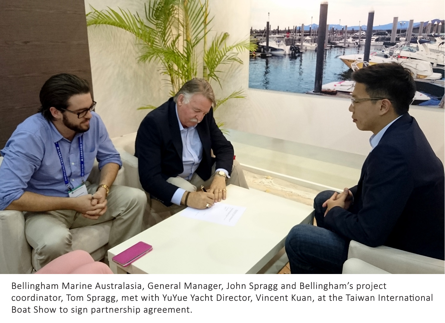 Bellingham Marine forms partnership with Taiwanese company to build marinas in Taiwan