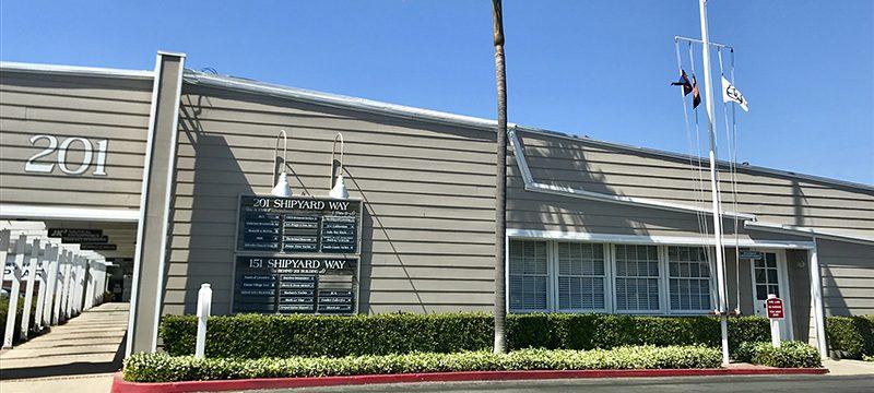 Bellingham Marine, world renowned marina builder, has a new home at 201 Shipyard Way in Newport Beach, California.