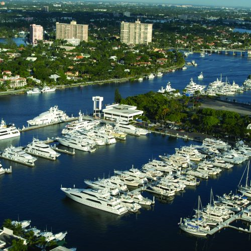 Bahia Mar is home to the annual Fort Lauderale International Boat Show.