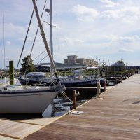 Unideck timber dock with IPE decking
