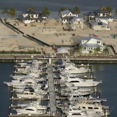 More than 55,000 square feet of docks were added in the first phase of development.