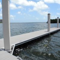 Unideck Aluminum TR floating dock