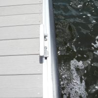 Cleat channel on Unideck Aluminum TR