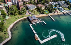 Local residents swell with pride over the revitalized Elizabeth Bay Marina. Bellingham Marine and the NSW government worked together to honor the public wishes to maintain the quaint vibe of the marina.