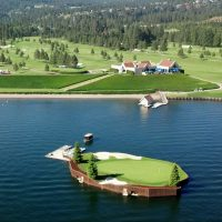 Floating Green, Coeur d'Alene, Idaho