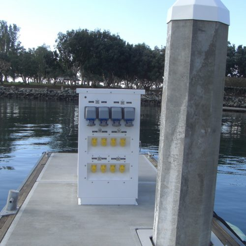 Single and three phase power is offered, catering to the needs of superyachts.