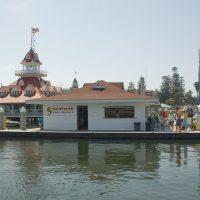 Floating Boat Rental Shop at Seaforth