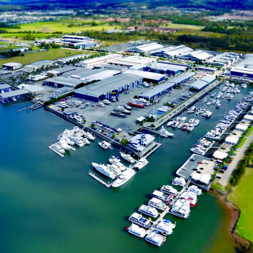 The marina is known for its award winning service and state-of-the-art facilities.