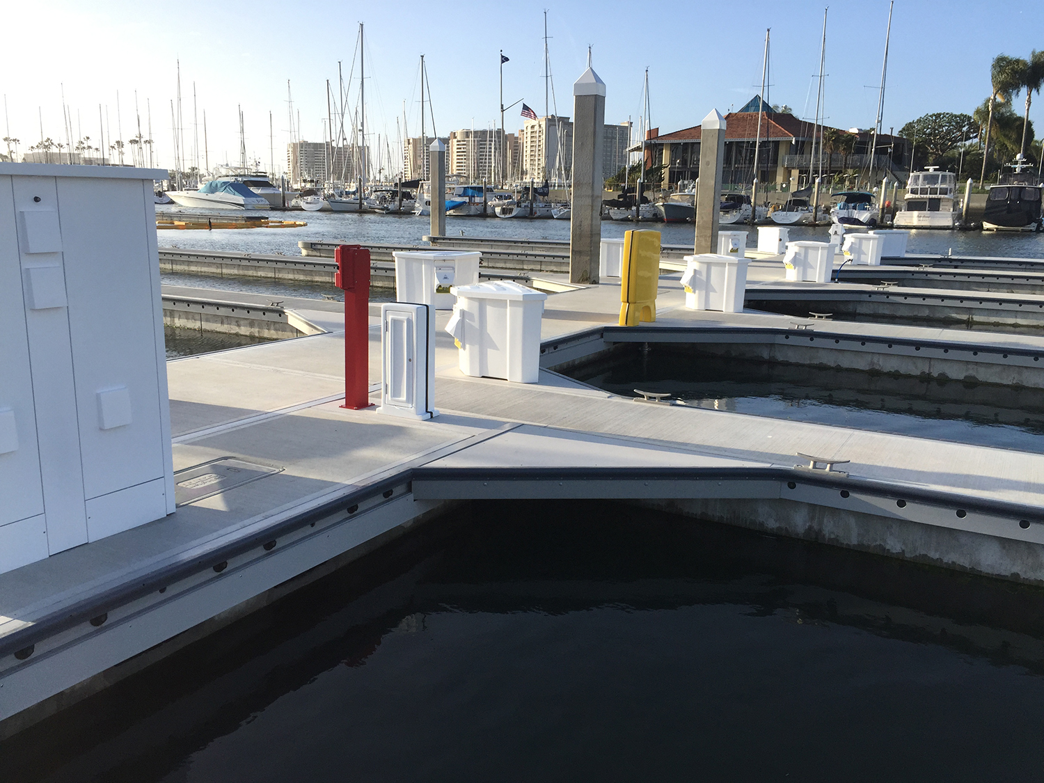 Marina del Rey Marina sets new precedent in marina construction as the first marina in the U.S. to be built with FRP walers and thru-rods.