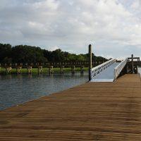 Low Freeboard Rowing Dock