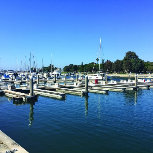 The Boatyard at Marina del Rey consists of 114 slips for vessels up to 85 ft. in length.