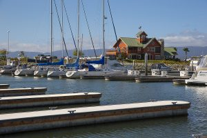 Westpoint Harbor Marina built by Bellingham Marine Industries in Redwood City California