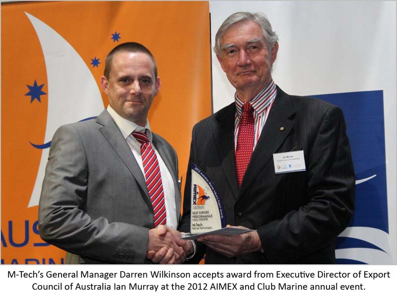 M-Tech receives Export Award