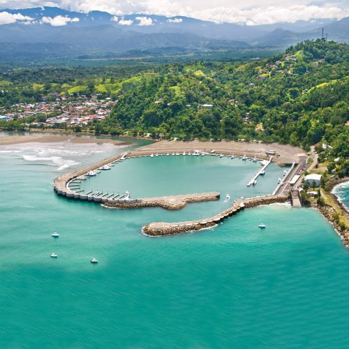 Marina Pez Vela is located in one of the top tourist destinations in Costa Rica.