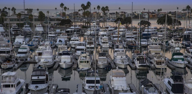 View of Alamitos Bay Marina - Redevelopment completed in 2018
