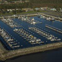 Tsunami Resistant Marina with Unibolt docks