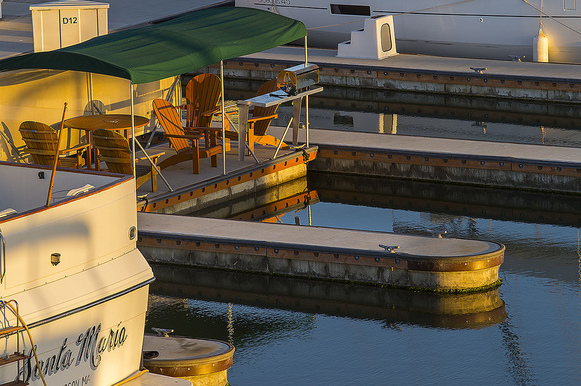 Westpoint Harbor Marina built by Bellingham Marine Industries in Redwood City California