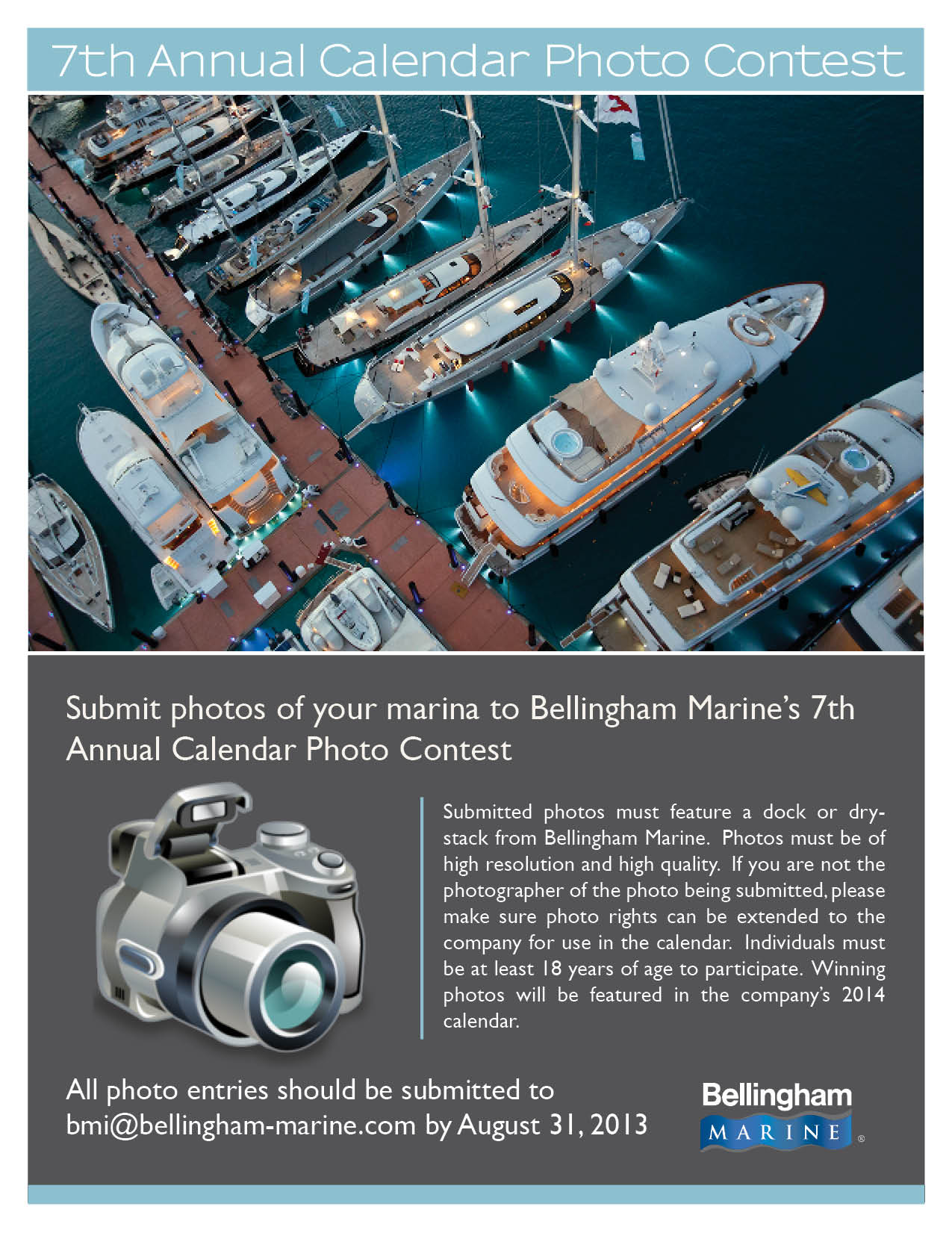 Marina photo contest