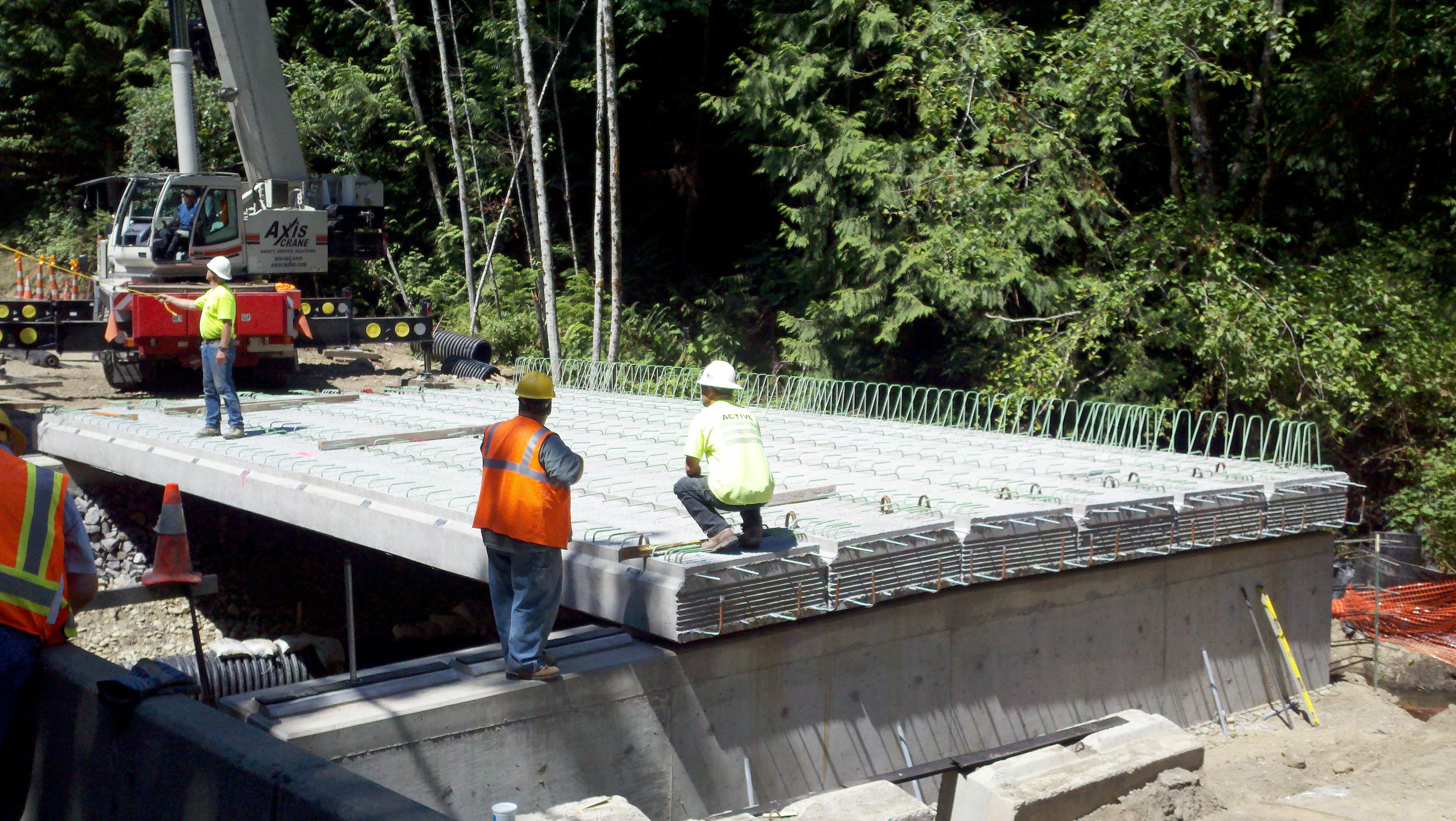 Precast Concrete Slab Bridge Decks