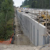 Typical precast walls range in height from 6 to 22 ft.