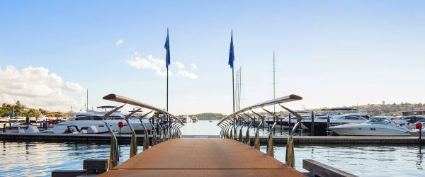 Rose Bay Marina in Australia bears the name of Bellingham Marine