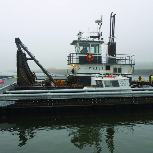 The Harbor has 14 slips for boats up to 40 ft. in length.