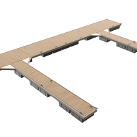 Unideck Timber - Assembled View