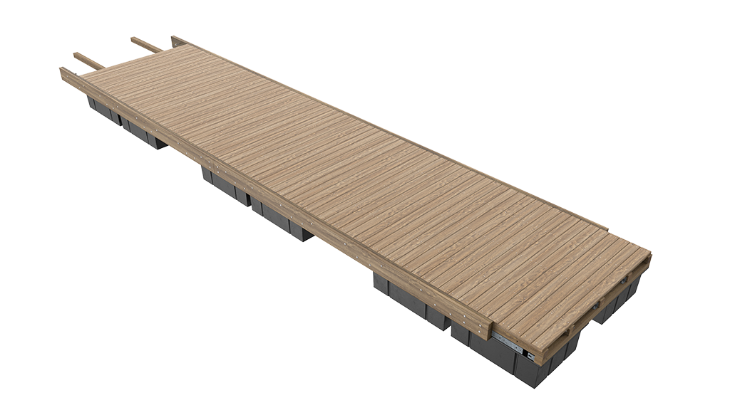 Unideck-Timber-Dock-Single-Module-View-Website