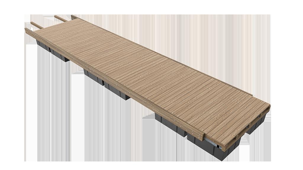 Unideck-Timber-Dock-Single-Module-View-Website