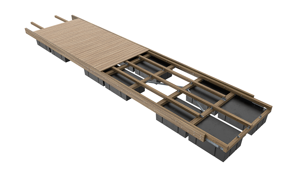 Unideck-Timber-Dock-Single-Module-View-with-Cuts-Website