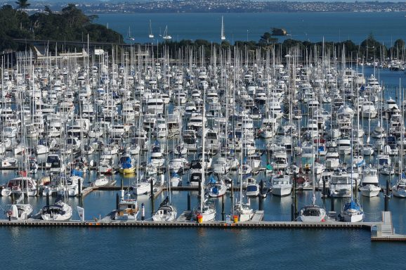 Westhaven Marina along with two sister marinas make up the largest marina system in the southern hemisphere.