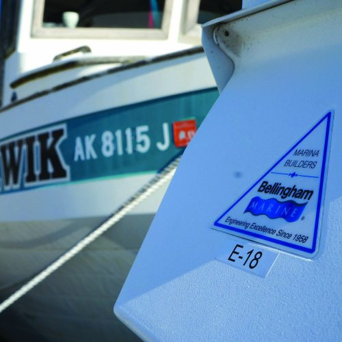 Whittier Small Boat Harbor underwent a replacement of its existing harbor with Bellingham Marine.