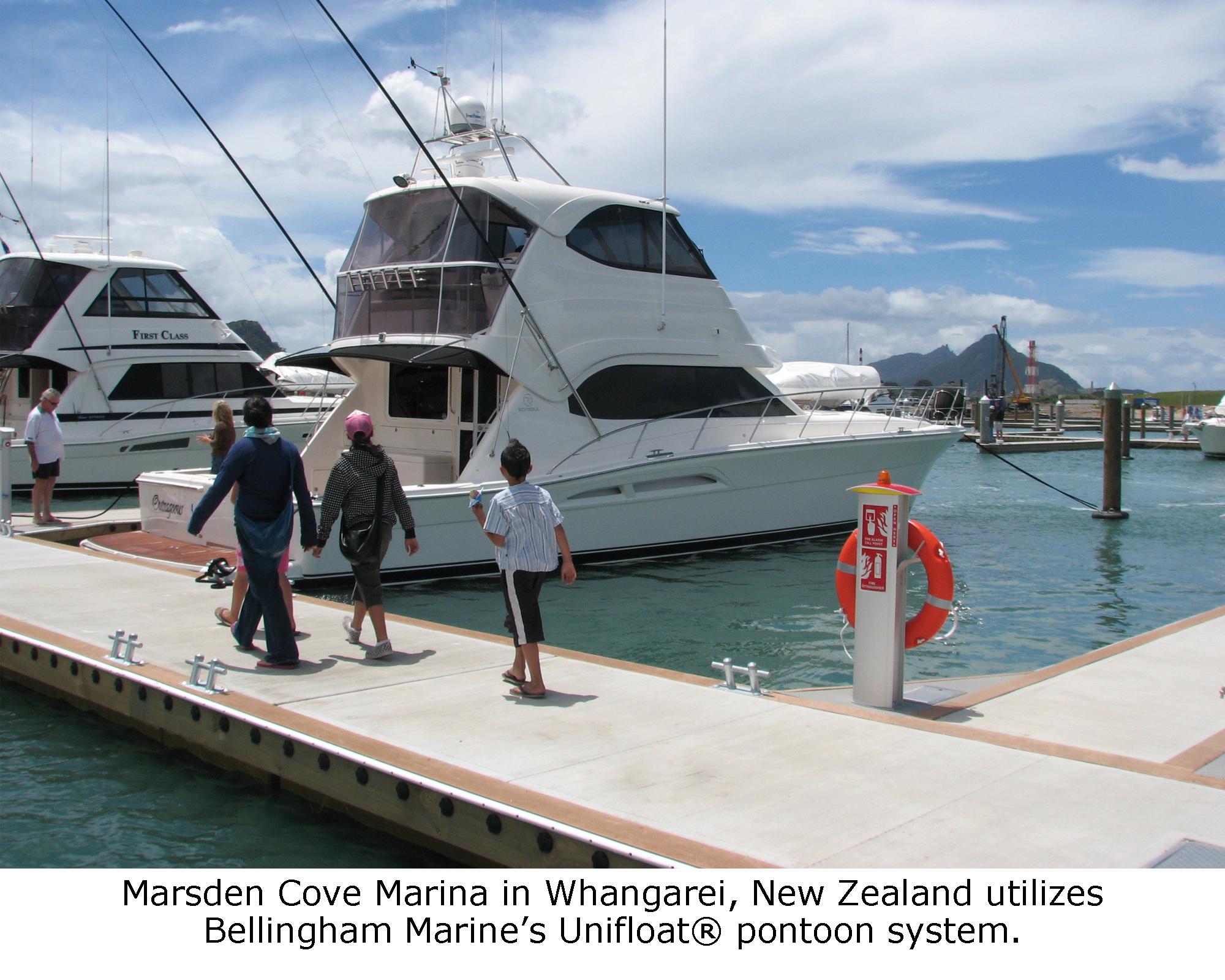 WORLD CLASS MARINA OPENS IN NEW ZEALAND'S NORTHLAND