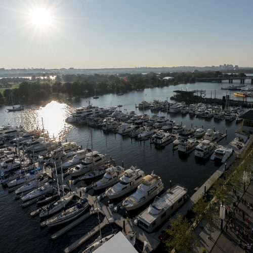 The Wharf consists of several marinas with over 300 slips and more than 4,800 sq. ft. of side tie moorage.